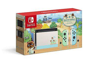 New Nintendo Switch HAC-001(-01) Animal Crossing: New Horizons Edition - 32GB