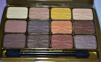 Beauty Treats 12 Color Palette Eye Shadow Brown Colors USA S