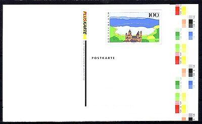 sachen-Karte ** mit Farbspektrum rechts / Pluskarte Eifel (Farbspektrum)