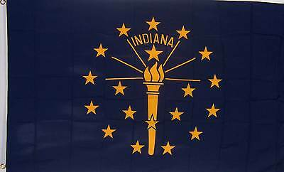 NEW 2x3 ft INDIANA STATE FLAG