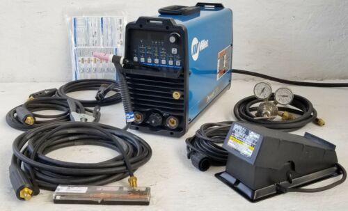 TIG Welder Miller Dynasty 200 DX Complete Ready To Use