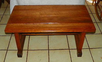 Solid Oak Wagon Wheel Coffee Table  (CT138), used for sale  Joplin
