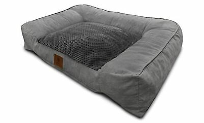 Extra Large Dog Bed Ultra Plush With Memory Foam And Orthopedic Durable XL Jumbo