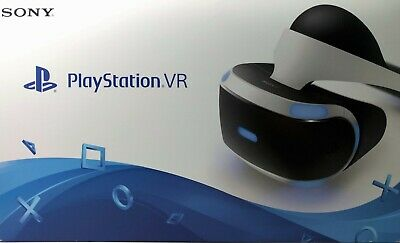 🔥New Sony PlayStation PS4 VR Virtual Reality Headset+Processor v2 12 Demo games