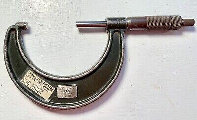 Lufkin Rule Co. Vintage Micrometer Gauge No. 1913 - 2 To 3 In.