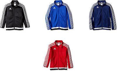 adidas Youth Soccer Tiro 15 Training Jacket, 4 Colors Adidas Tiro Training Jacket