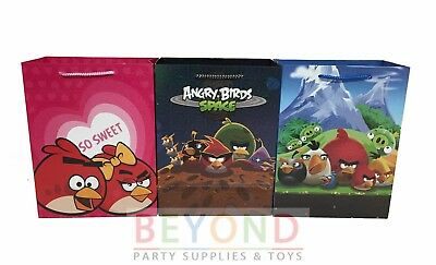 Angry Birds Goody Bags, Angry Birds Party Favor Goodie Bags Gift Bags Birthday](Angry Birds Party Favours)
