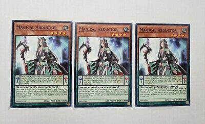 3x Magical Abductor Pendulum Effect Monster Cards The Best Great Online Set (Best Effect Yugioh Cards)
