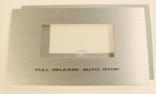 AKAI CS-34D Well Cover-Vintage Cassette Deck