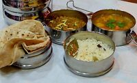 Required- indian vegetarian tiffin tifin / lunch box
