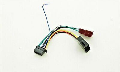 Sony CDX/ SDX/MEX ISO Wiring Harness Connector Adaptor Lead Loom Cable Wire Plug