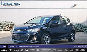 2017 Chevrolet Sonic LT Auto RS SUNROOF HEATED SEATS REAR CAM 
