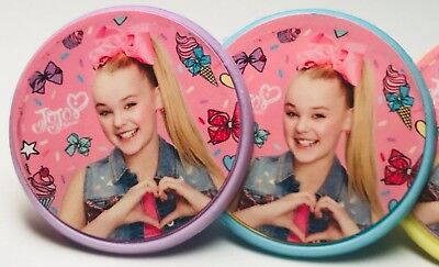 Jojo Siwa Cupcake Toppers Rings Birthday Party Favors - 24 - Cupcake Ring Toppers