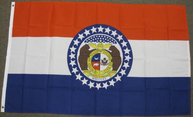 3X5 MISSOURI FLAG STATE FLAGS MO STATES NEW USA US F253