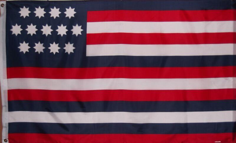 "JOHN PAUL JONES SERAPIS FLAG - 1779 - ""I have not yet begun to fight!"" PATRIOTIC"