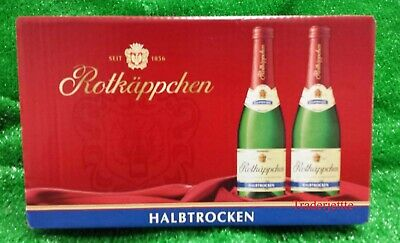 (7,29€/l) 24 Flaschen Rotkäppchen Sekt 0,02l HALBTROCKEN ,Piccolo Flaschen