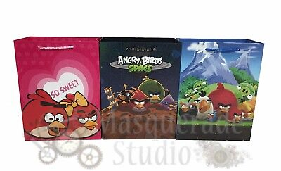 Rovio Angry Birds Party Favor Supplies Paper Goody Loot Gift Bags [6ct]](Angry Birds Party Favours)