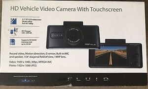 HD vehicle video camera
