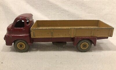 1950's Dinky Toys Big Bedford Truck Red/Beige No. 522