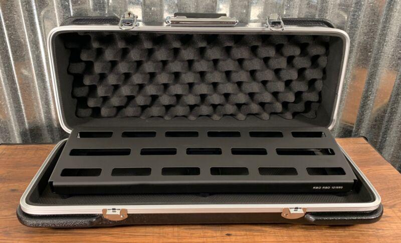 Warwick Rockboard Duo 2.1 A Guitar Effect Pedalboard & ABS Case