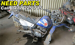 WRECKING SUZUKI TROJAN DR200 MOTOR EXHAUST SEAT GUARDS RACKS PLUS MORE PARTS
