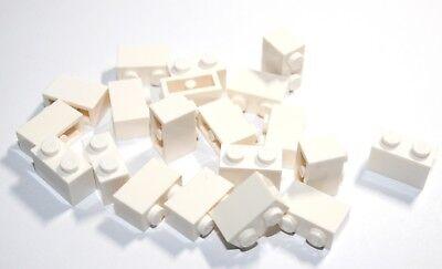 20x LEGO® Stein 1x2 3004 NEU Weiss