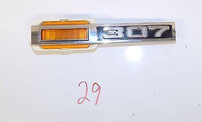 1969 Chevelle 307 Front Side Marker LighT w/ Chrome Bezel   3945291