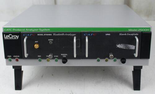 LeCroy CATC Protocol Analyzer System 2500H w/ Bluetooth Analyzer BT004MA