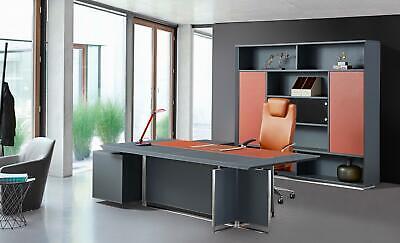Lujo Mueble Oficina Set Escritorio de Esquina Armario Archivador Mesa Mobiliario