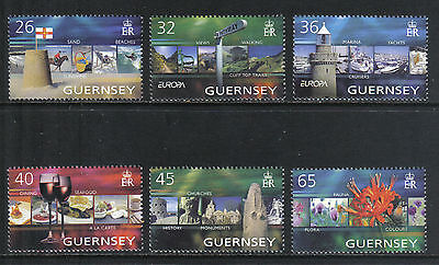 Guernsey 2004 Europa/Vacations--Attractive Tourism Topical (832-37) MNH for sale  Shipping to India