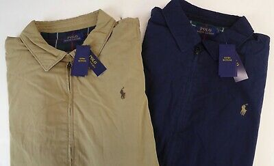 Polo Ralph Lauren Poplin Cotton Insulated Windbreaker Jacket Coat $195 NWT  Pony