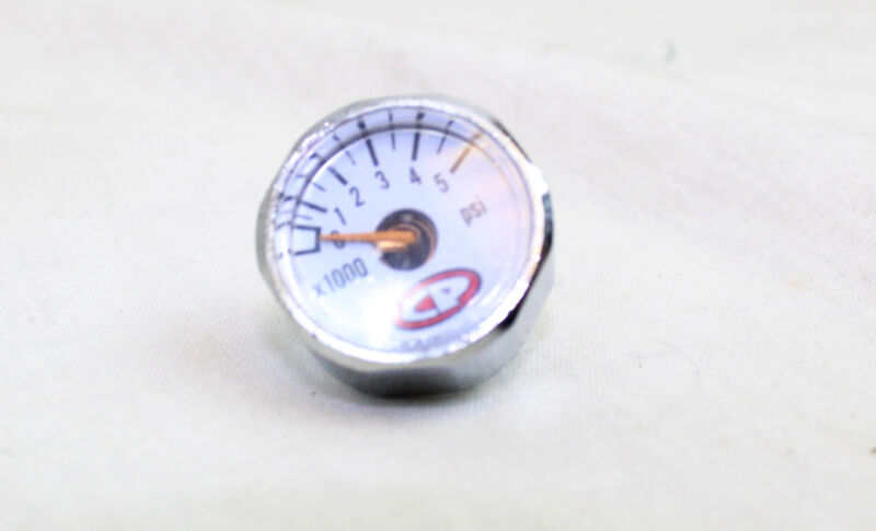 Custom Products CP Micro 5000psi Compressed Air Gauge