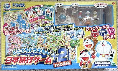 Epoch Anime Doraemon Japan World Travel Board Game Job Ver  Toy
