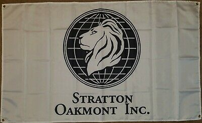Stratton Oakmont Inc Logo - Wolf of Wall Street 3x5 Feet
