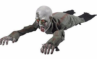 Krabbel Zombie mit Hellem Augen Party-Dekoration Requisit (Animierte Requisiten)