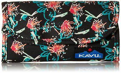KAVU Big Spender Tri-Fold Wallet Women's Clutch Travel Organizer - Sparklers