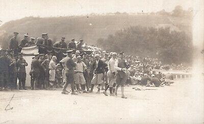 Early Real Photo Postcard Baseball, Circa 1918, RPPC, Free Shipping