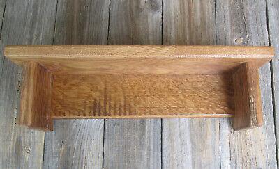 Handmade Farmhouse Wall Shelf Barn Wood Oak Authentic Weathered Woods -