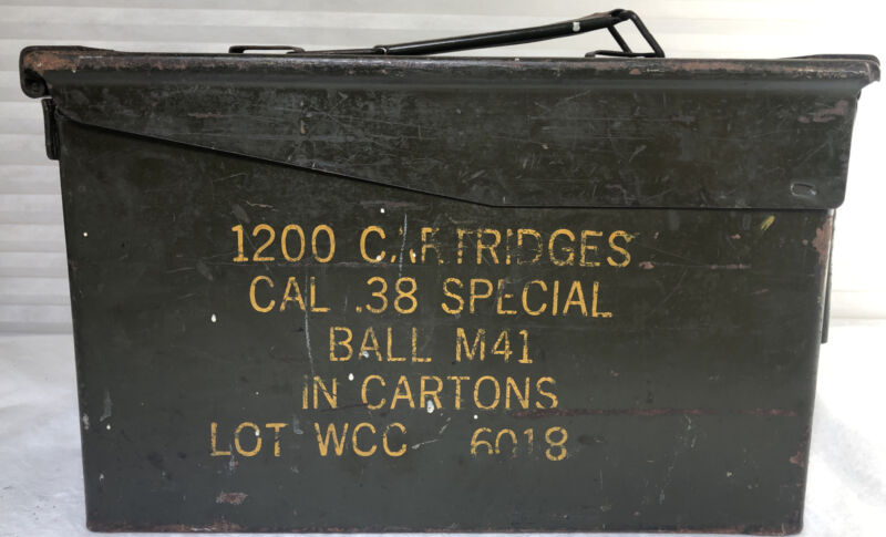 Army Ammo Can .38 special