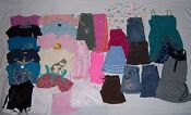 Girls Size 6 Capris Lot