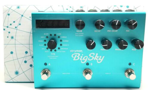 used Strymon BigSky, Mint Condition with Box and Power Supply! big sky