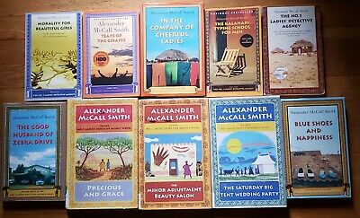 (10) Alexander McCall Smith Books - The No. 1 Ladies Detective Agency Series