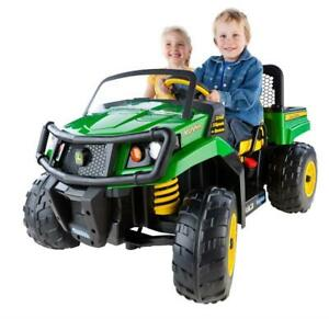 NEW Peg Perego IGOD0063 12V John Deere Gator XUV Ride-On Condtion: New