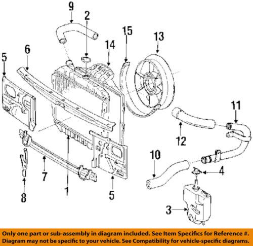 1995 toyota 4runner engine diagram toyota oem 90 95 4runner 3 0l v6 radiator bypass pipe 1626865011  toyota oem 90 95 4runner 3 0l v6