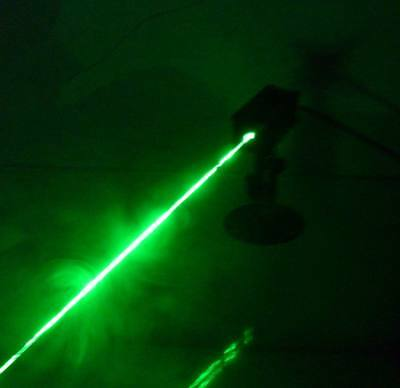 Real 1w Green Laser Module With Bracket Power Adapter Working Low Temperature