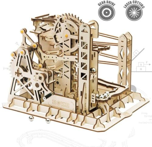 ROKR Marble Explorer - Marble Run LG503 - 3D Wood Puzzle Machine