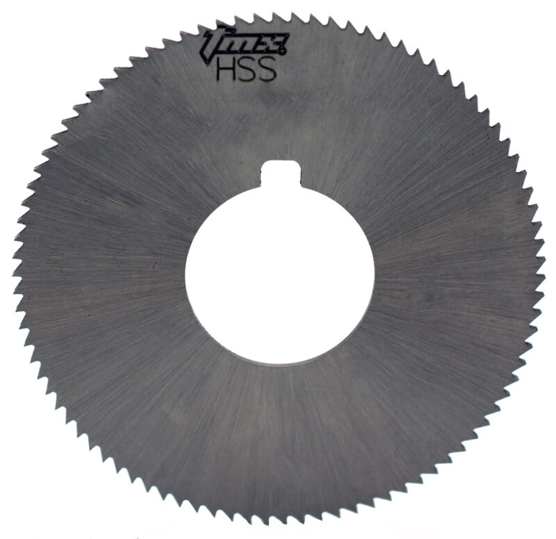 ".032"" Thick x 1-3/4"" Diameter x 5/8"" Arbor Hole 90 Teeth HSS Screw Slotting Saw"