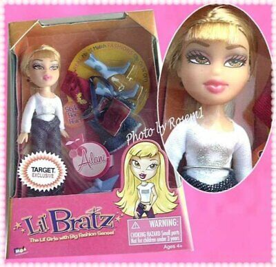 2004 lil BRATZ mini AILANI MIX N MATCH FASHIONS TARGET EXCLUSIVE doll