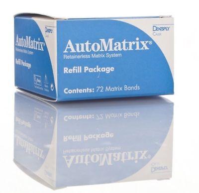 4 X Caulk Automatrix Bands Medium Regular Dental Matrix System Box 72 Pcs