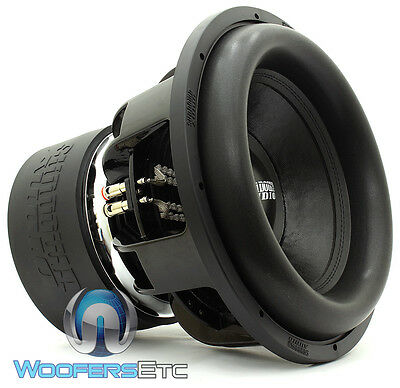 "SUNDOWN AUDIO Z-18 V.5 D2 18"" 2000W RMS DUAL 2-OHM SUBWOOFER BASS SPEAKER NEW"